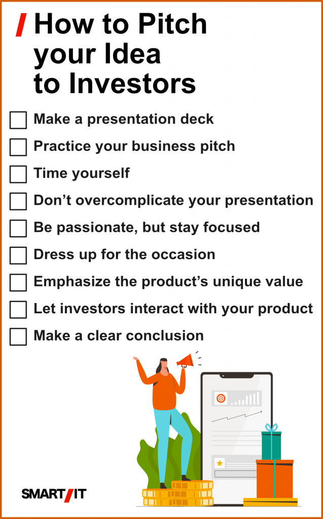 How to pitch your idea to investors