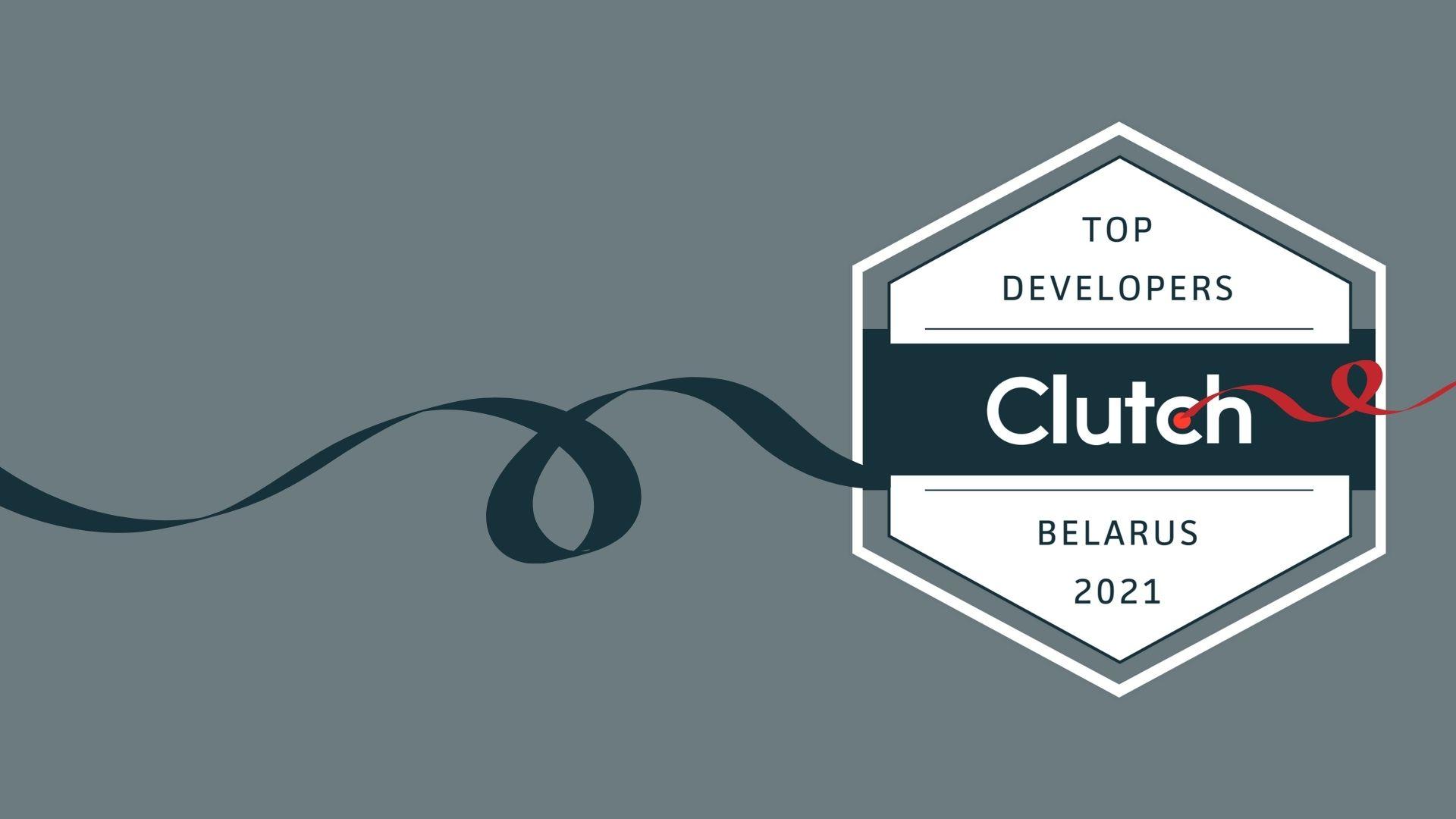 Smart IT is in Clutch Top Developers Belarus 2021